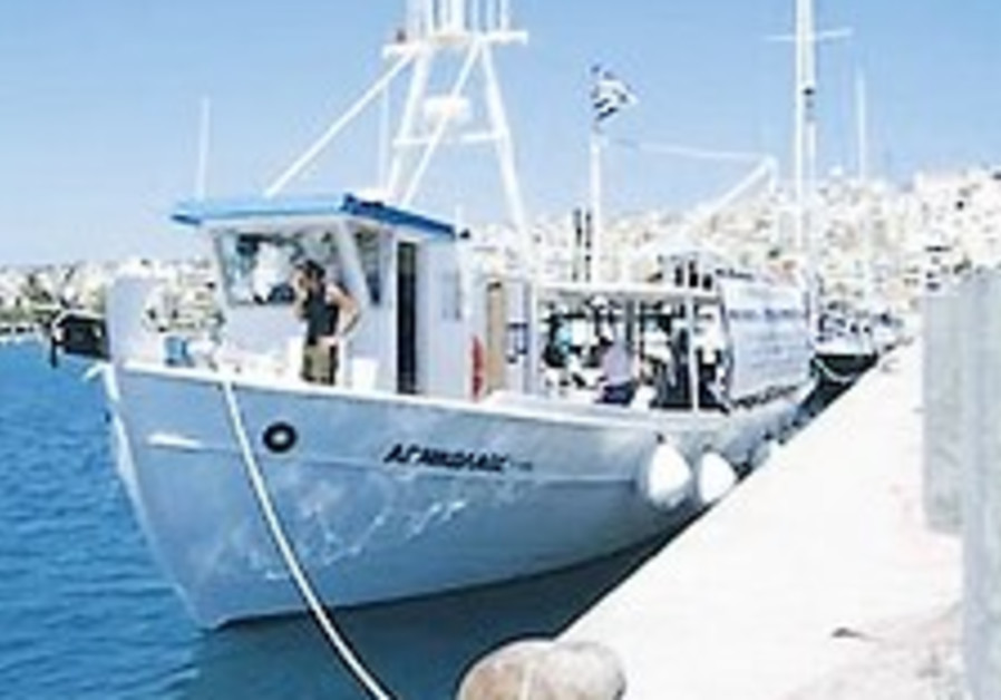 Protest boats leave Cyprus for Gaza
