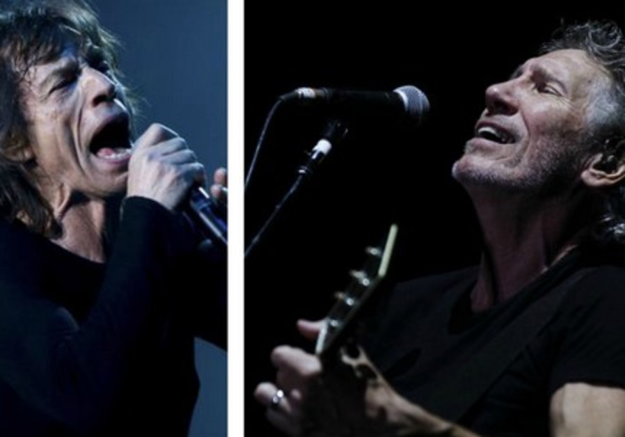 Mick Jagger Roger Waters