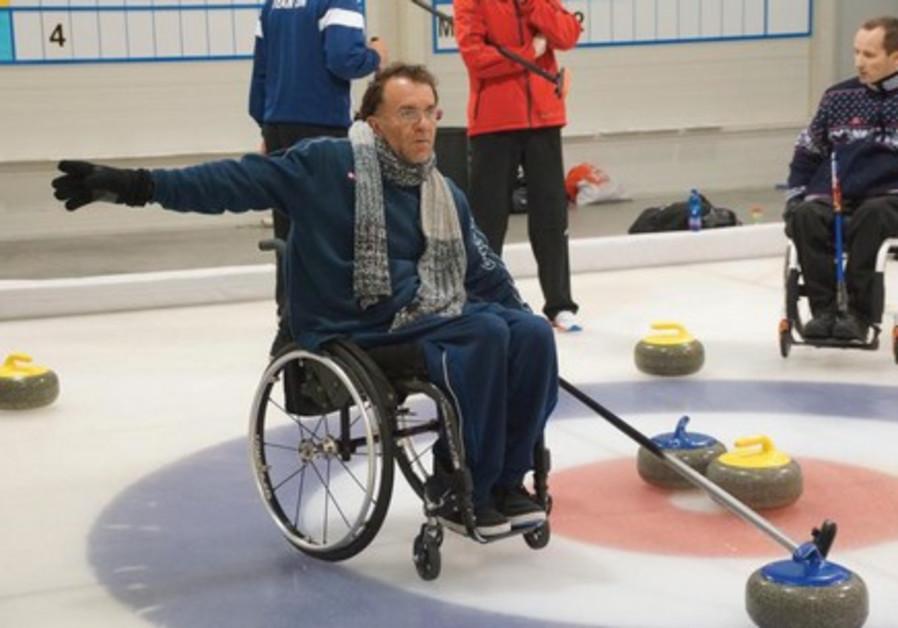 Israeli wheelchair curlers