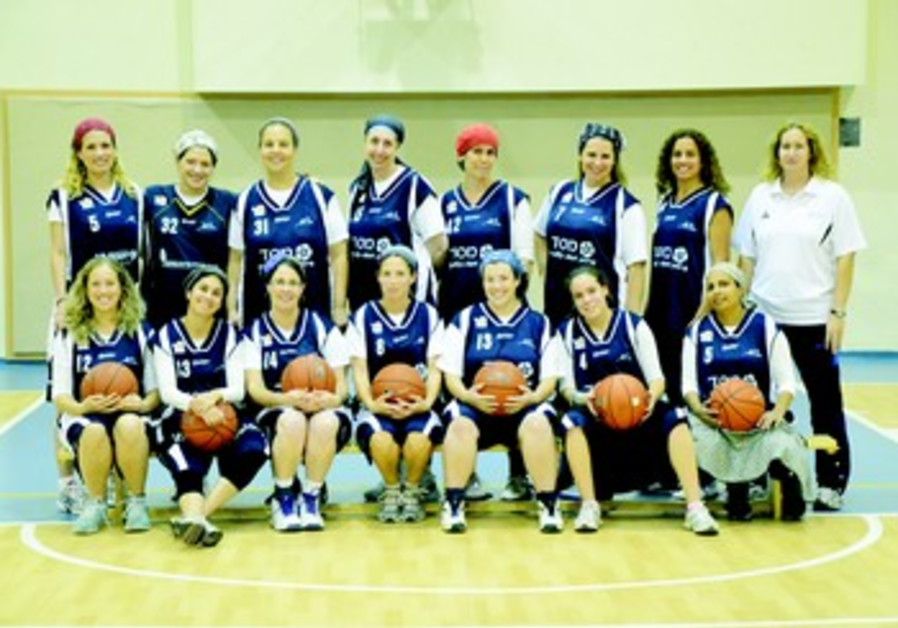 L'equipe feminine de Kfar-Tapuah