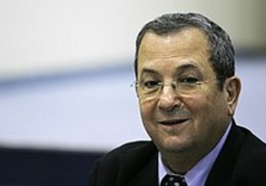 Thank you, Ehud Barak