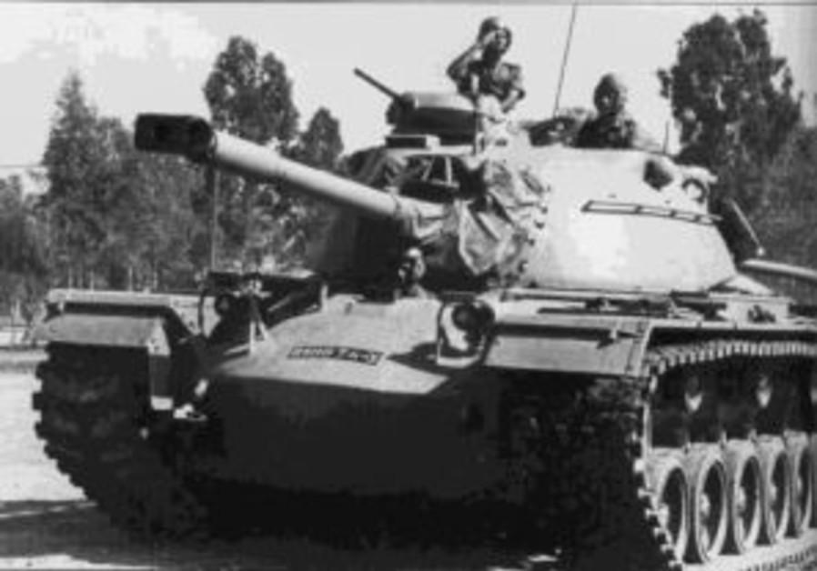 b&w idf tank 1967 298 88