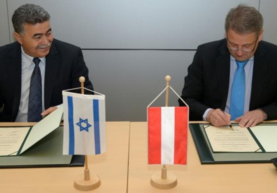 Israel-Austria cooperation