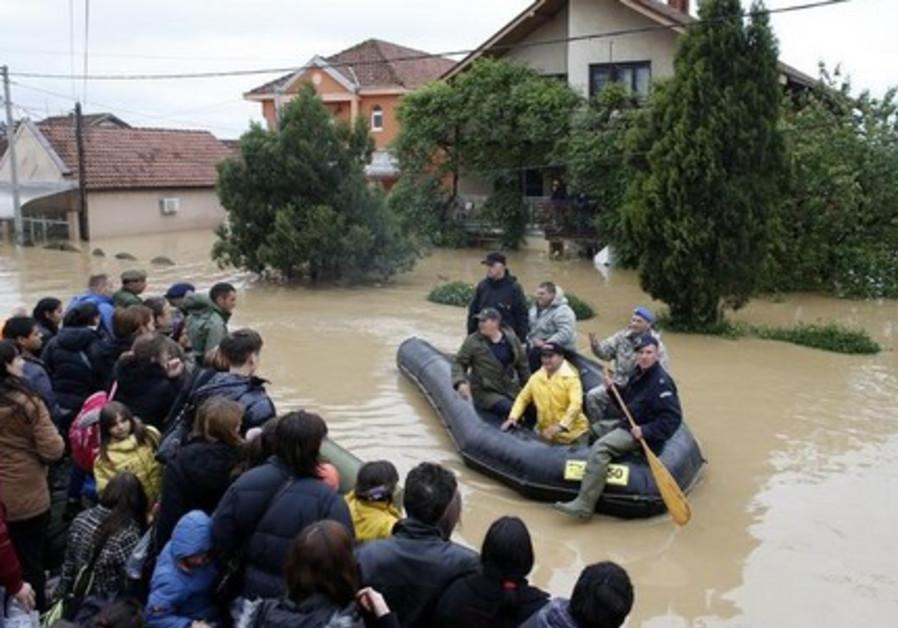 Serbia flood