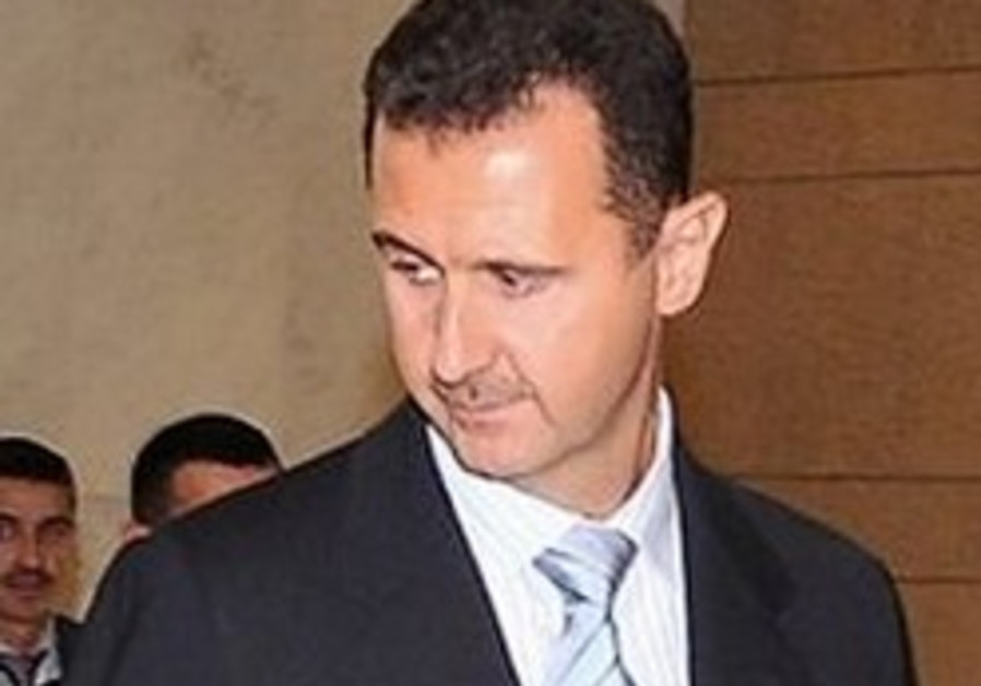 'Syria building chemical weapons plant'