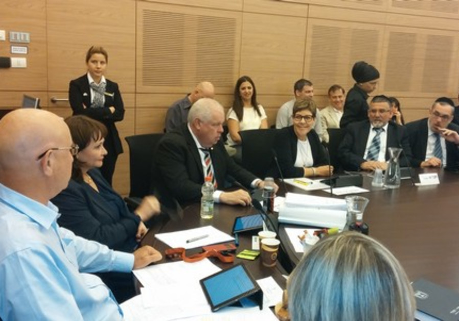 Green Knesset committee