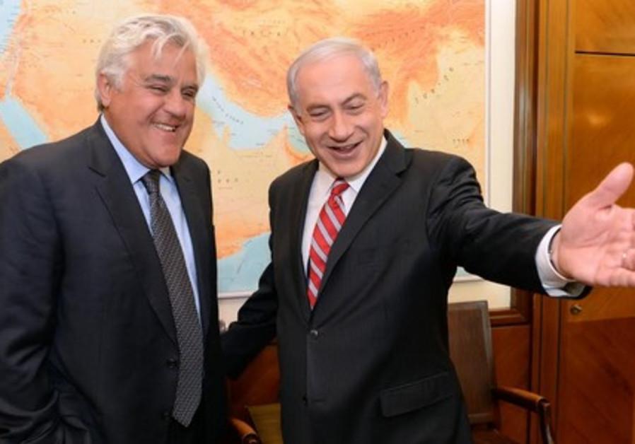 PM Netanyahu meets with Jay Leno