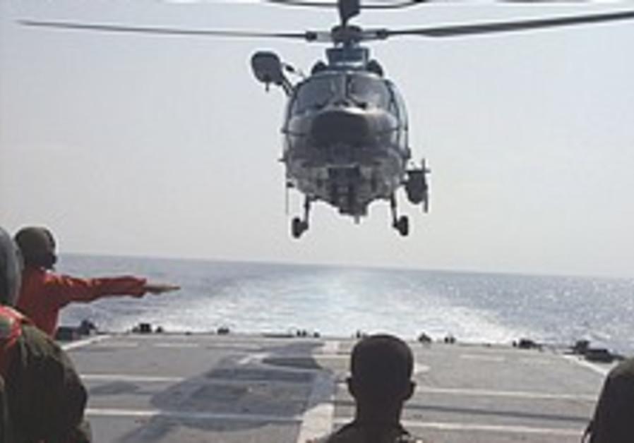 Navy steers confidently ahead