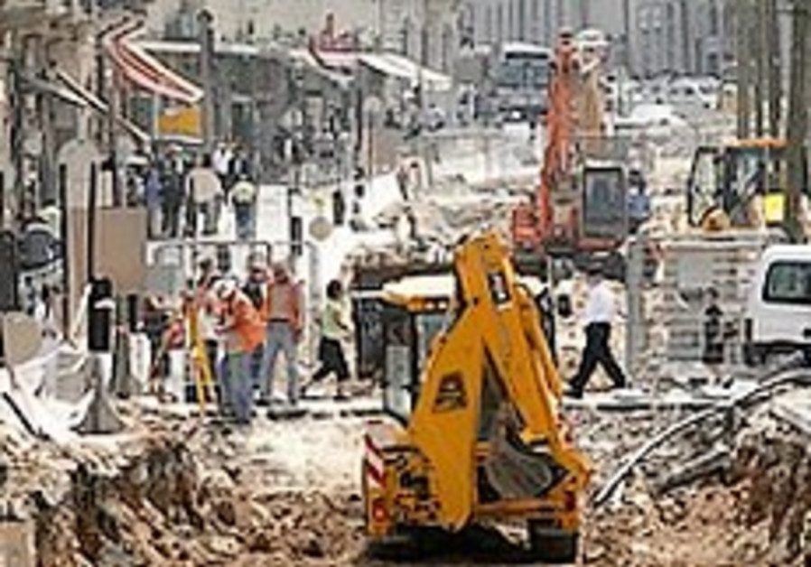 City vows to speed up construction on J'lem light rail