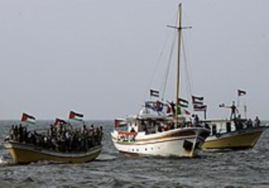 Boat will be stopped from reaching Gaza