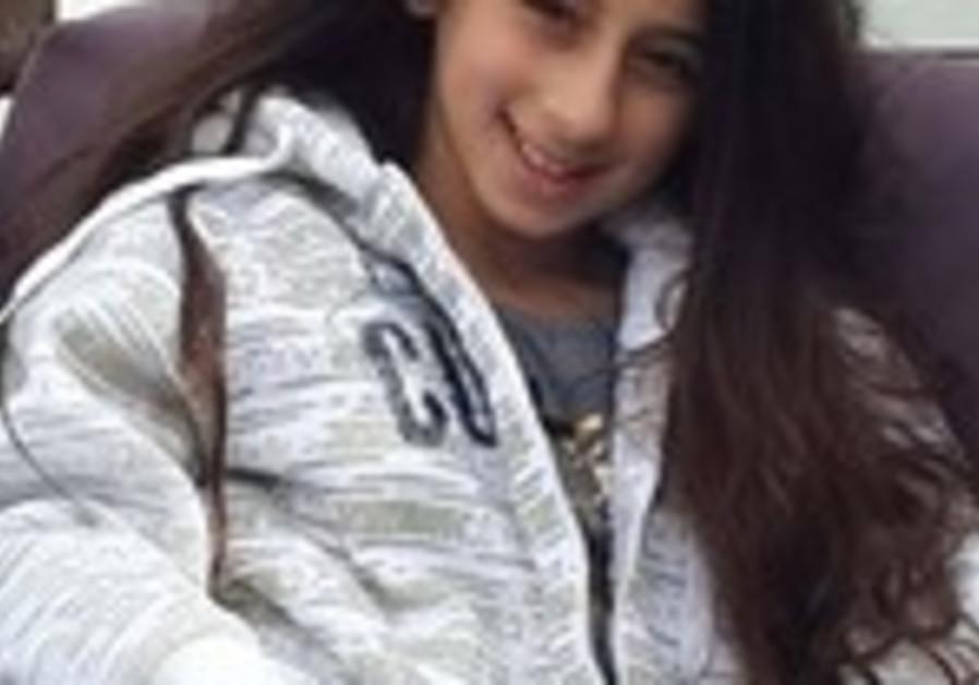 Karen Valeria, la fille de Pnina et Valery, est aujourd'hui agee de 11 ans et demi