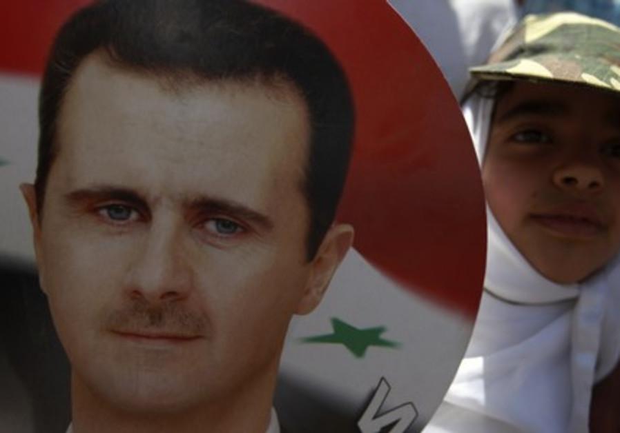 Assad runs for president