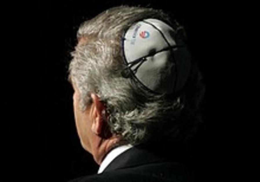 rabbi with obama kippah