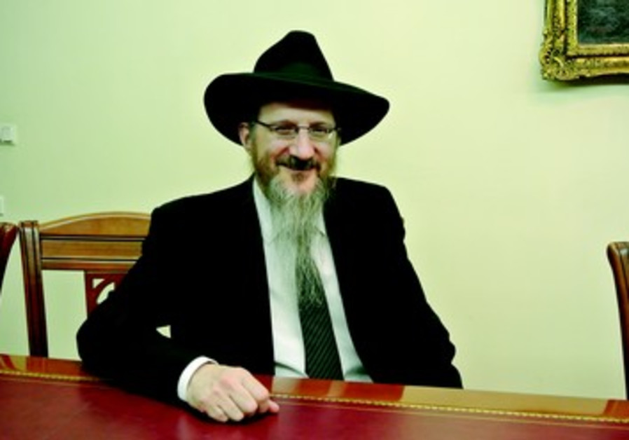Grand Rabbin de Russie Berel Lazar