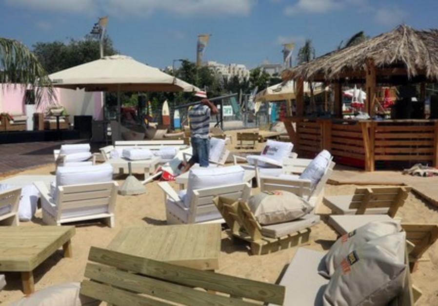Jeruslaem beach