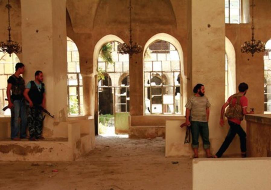 Jobar Synagogue syria