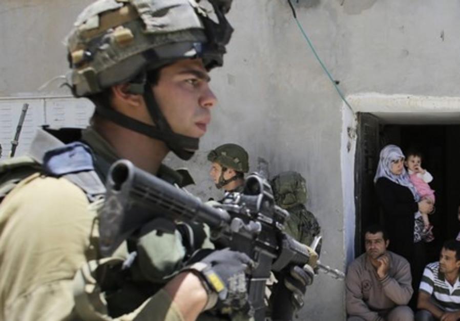 Palestinians in Hebron
