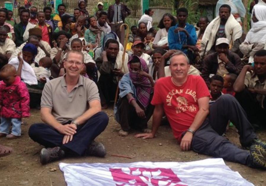 SENIOR SURGEONS Dr. Zach Sharony (left) and Dr. Omri Emodi