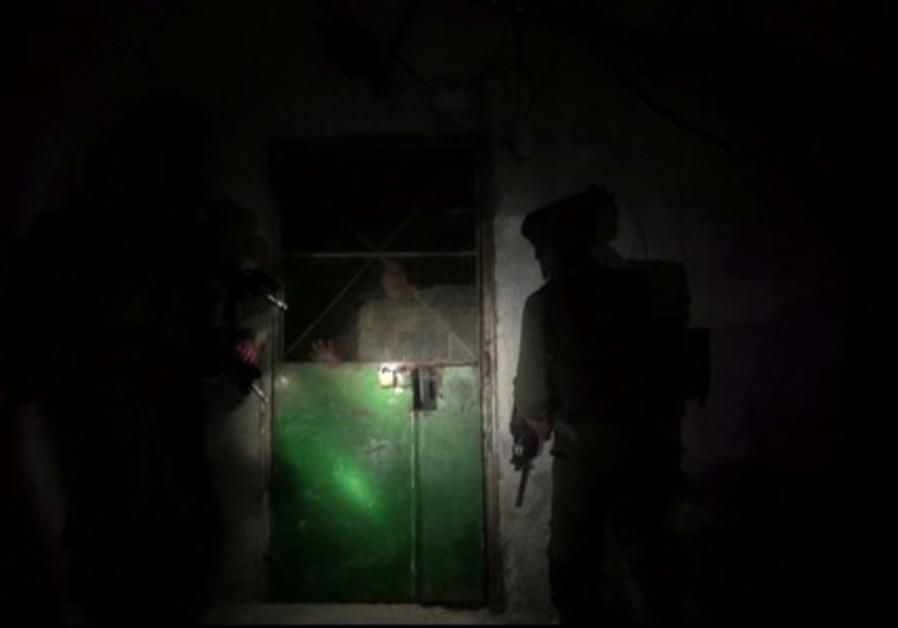 Israeli forces conduct an operation in Jenin. (Photo: IDF Spokesperson's Unit)