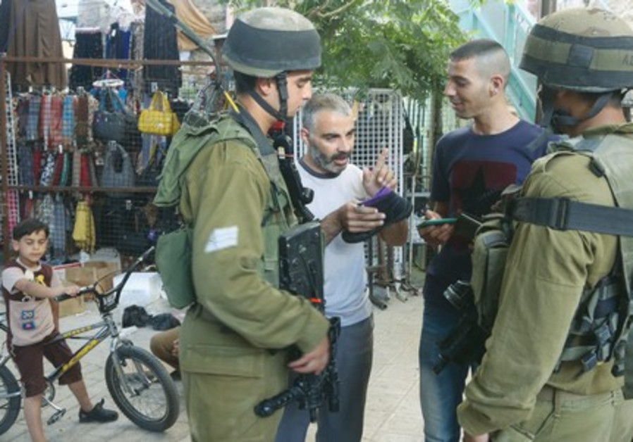 IDF soldiers Hebron