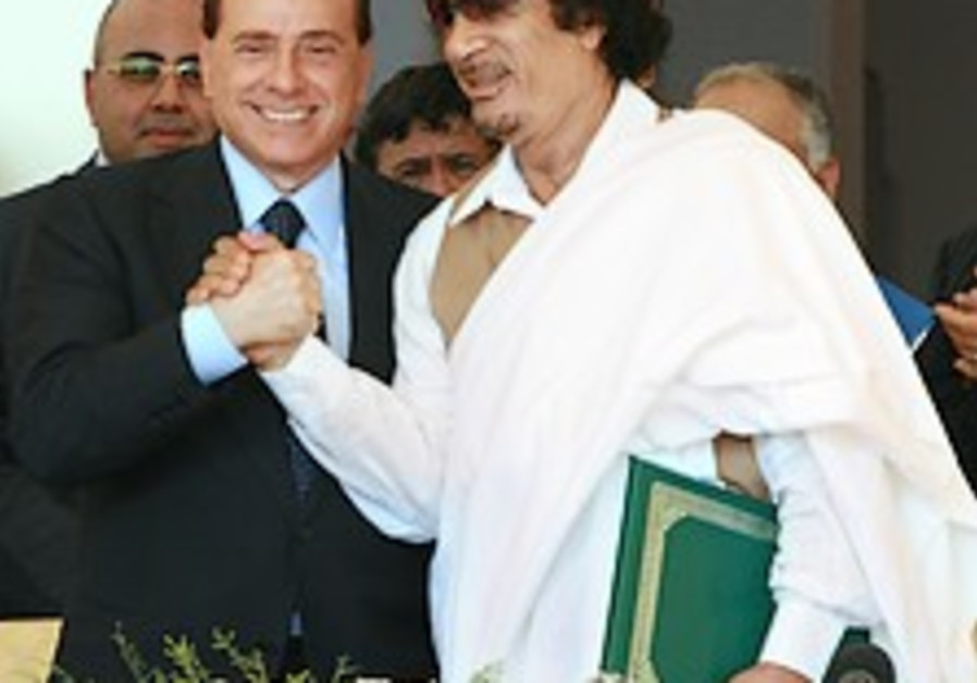 Italy to compensate Libya $5B for colonial rule