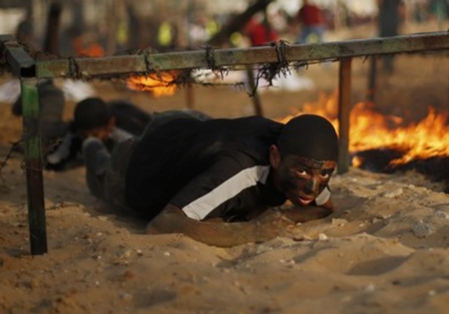 Hamas camp in Gaza
