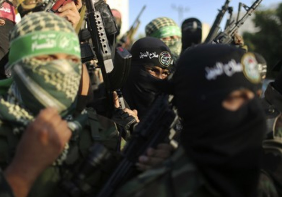 Palestinian militants in Gaza