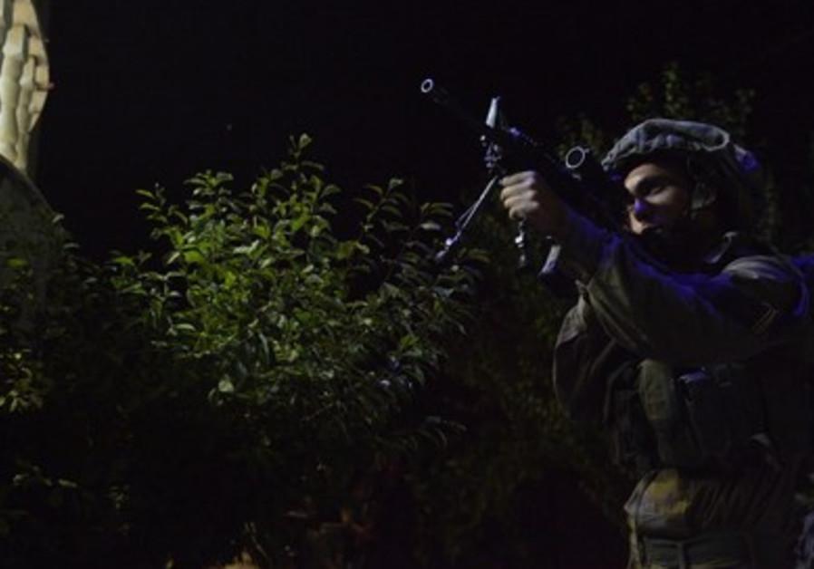 IDF paratroopers