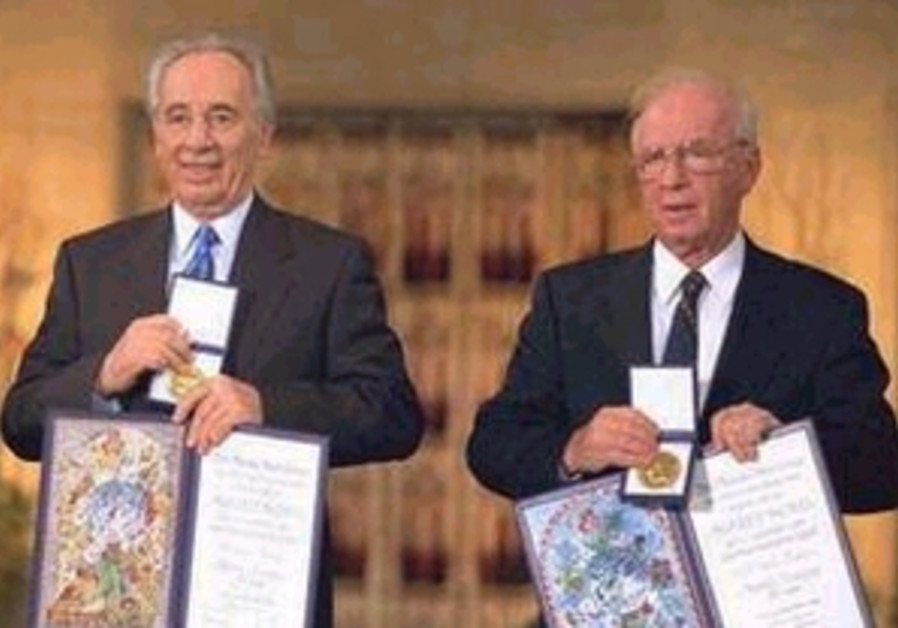 rabin and peres receive nobel