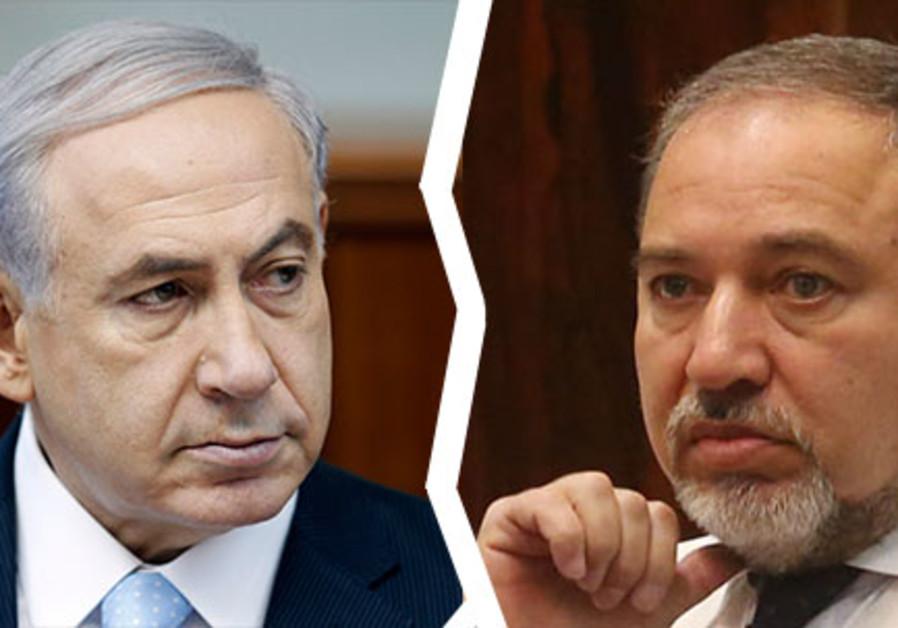 Netanyahu and Liberman