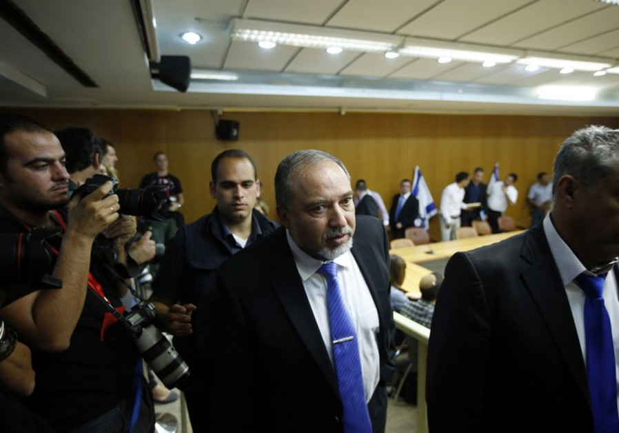 Liberman willing to risk it all as clock ticks against Netanyahu