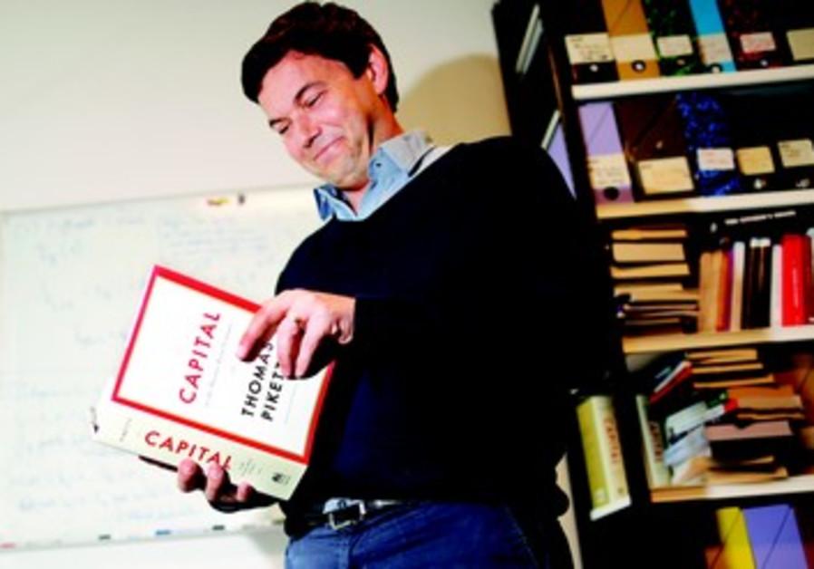 L'économiste Français Thomas Piketty