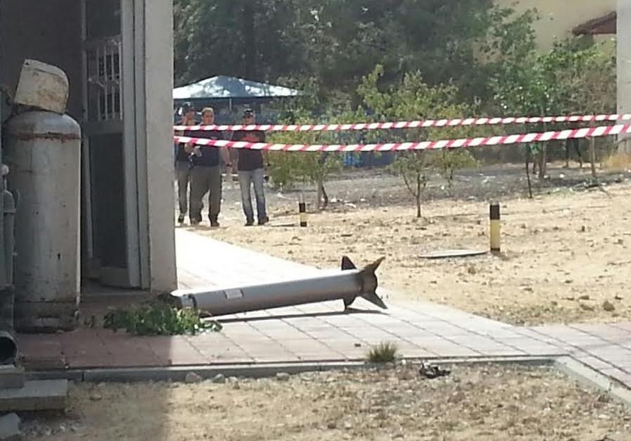 Rishon Lezion rocket