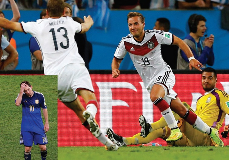 Germany wins 2014 World Cup in Rio, Brazil