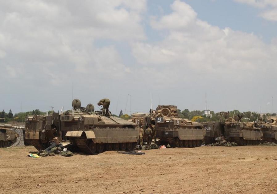 Gaza border, July 18