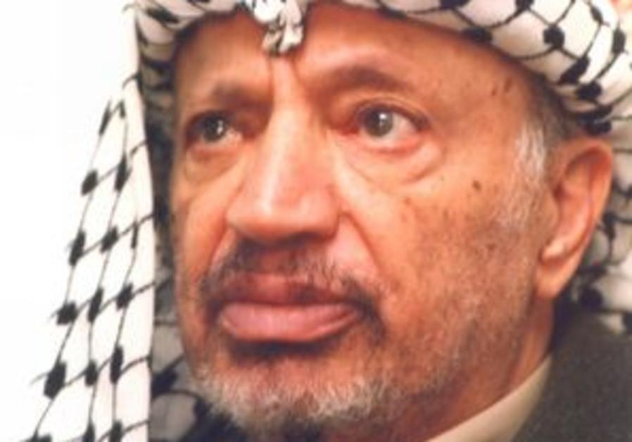 arafat sick