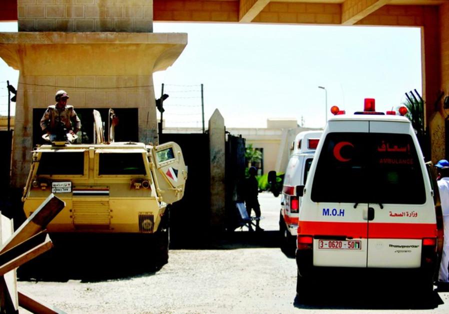 Ambulances du Croissant Rouge palestinien