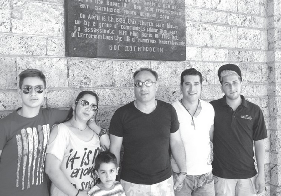 A CHRISTIAN Iranian family, rescued by Canadian Jewish Philanthropist Yank Barry