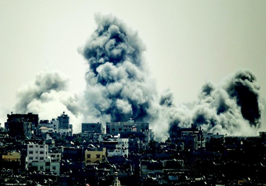 Frappe sur Gaza