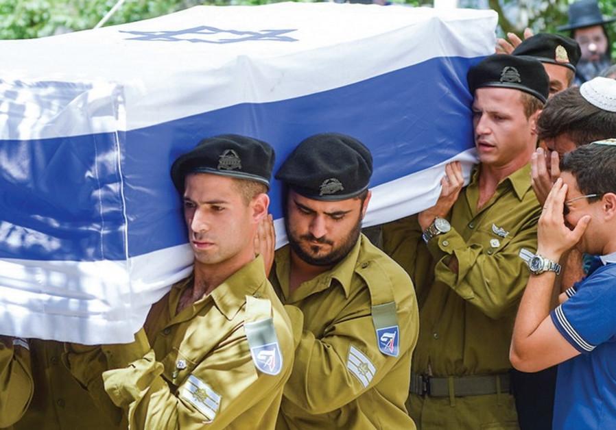 Funeral of St.-Sgt. Eliav Eliyahu Haim Kahlon