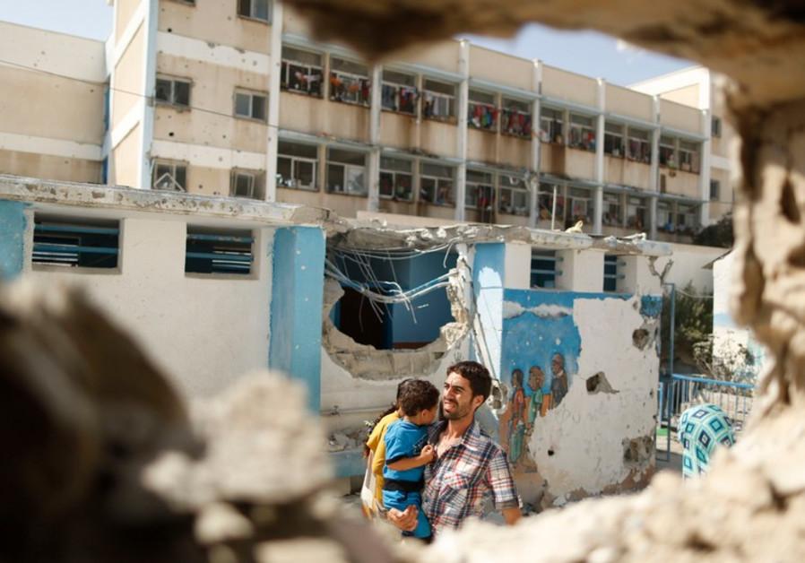UNRWA discovers Hamas tunnel under Gaza schools - Arab