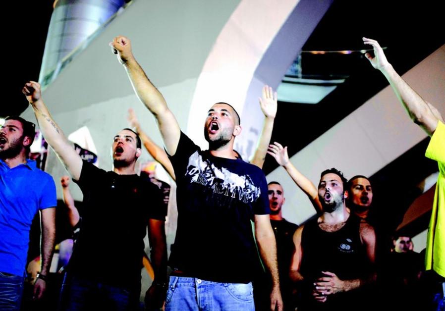 Militants à Tel-Aviv