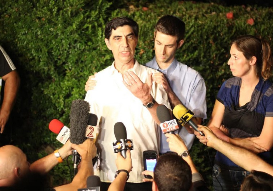 Simcha Goldin, father of missing IDF soldier