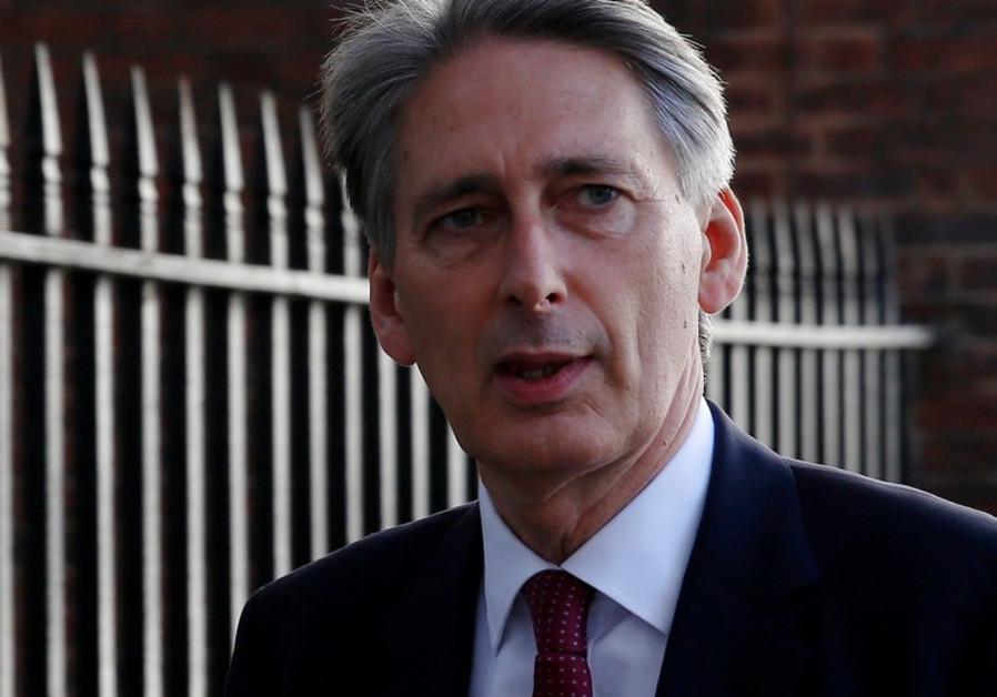 British Foreign Secretary Phillip Hammond