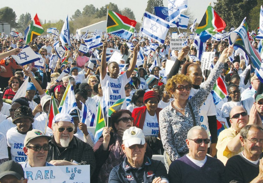 South Africans support Israel.