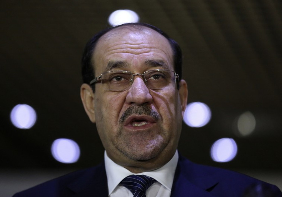 Iraq's former PM Maliki joins chorus against U.S.-Iran policy