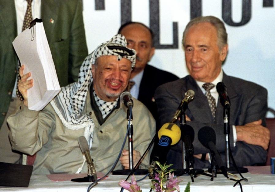 arafat the oslo accords