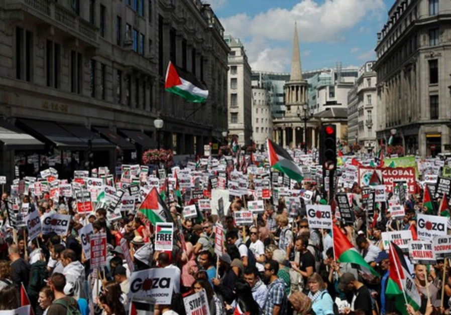 gaza rally london