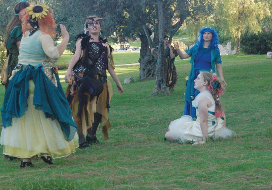 A scene from Theater in the Rough's 'A Midsummer Night's Dream.'(
