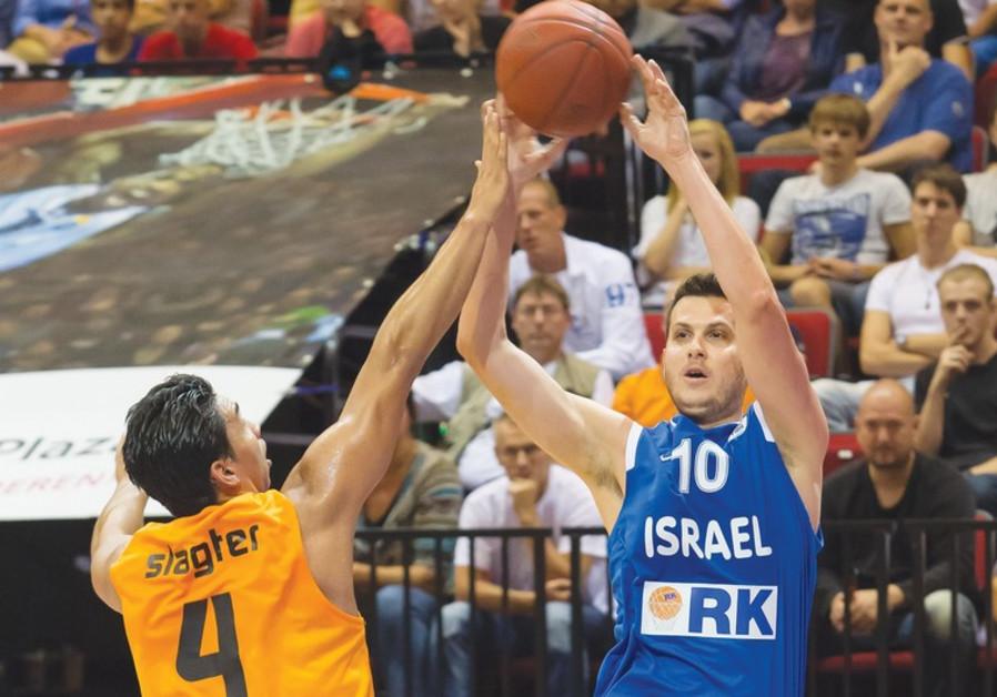 Israel forward Guy Pnini